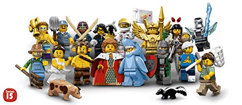 LEGO-Series-15-Minifigures-Complete-Set-of-16-Minifigures-71011