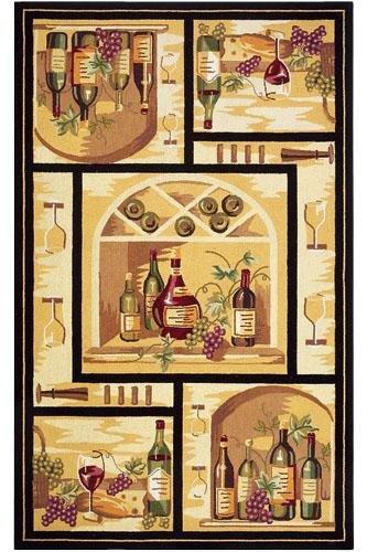 Wine Cellar Area Rug, 1'8