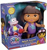 Fisher-Price Dora The Explorer Splash Around Dora and Boots Baby, NewBorn, Children, Kid, Infant