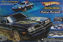 HOT WHEELS® Slot Car Racing Police Pursuit Slot Car Racing Set