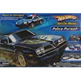 HOT WHEELS� Slot Car Racing Police Pursuit Slot Car Racing Set ~ Mattel