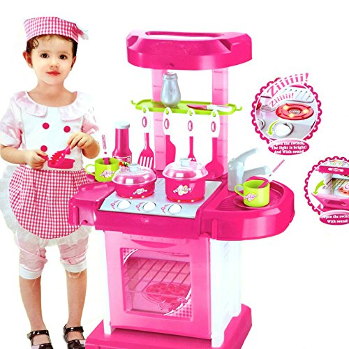 3 off on homeshopeez toy kitchen set small on flipkart for Small childrens kitchen