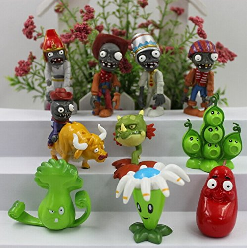 Plants vs Zombies Series Game Role Figure Display Toy PVC - 1