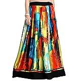 Admyrin Women's Multicolour Satin Skirt best price on Amazon @ Rs. 0