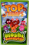 TOP TRUMPS MOSHI MONSTERS - CARD GAME - PLAYING CARDS