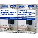 Proforce/Members Mark Commercial Foaming Antibacterial Hand Soap 2 pack Refills, 33.8 Fl. oz