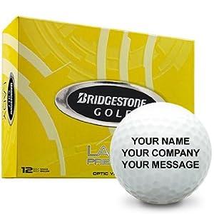 Bridgestone Lady Precept Yellow Personalized Golf Balls by Bridgestone