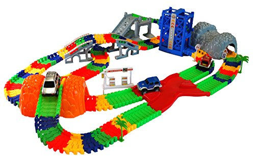 Super Snap Speedway Rennbahn - Deluxe Set