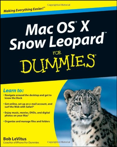 Mac OS X Snow Leopard For Dummies