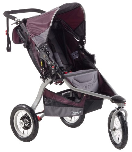 BOB Revolution CE Single Stroller, Plum