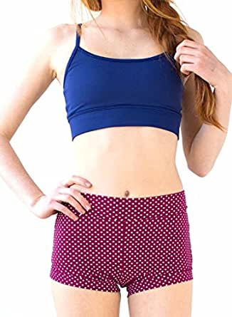 Lime Ricki Women's Boy Short Bottom Modest at Amazon Women's