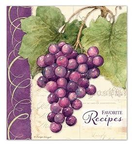 Brownlow Gifts Recipe Binder - Vineyard