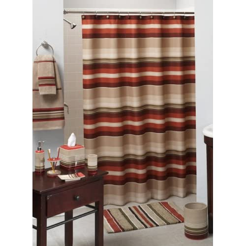 Amazon Com Madison Stripe Complete Bath Collection By