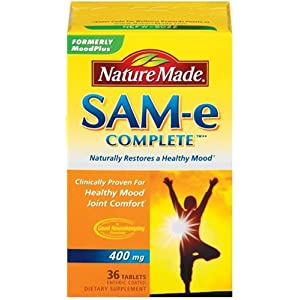 Amazon.com: Nature Made SAM-e Complete 400mg, 36 Tablets: Health ...