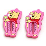 2 Pack Winnie The Pooh Bath Thermometer Pink Accurate Water Temperature Tester