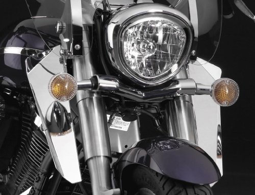 National Cycle Switchblade Chrome Lower Deflectors 