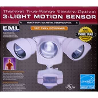 EML Technologies Thermal True Range Electro Optical 3 Light Motion Sensor F