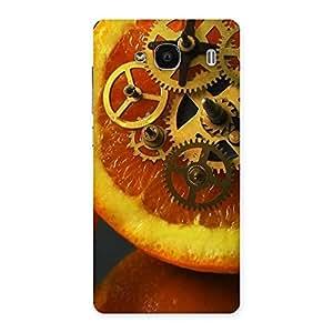 Special Orange Machines Back Case Cover for Redmi 2 Prime