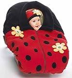 Snugaroo Fleece Infant Car Seat Jacket/Cover & Matching Baby Hat