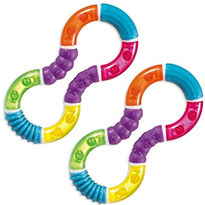 Munchkin Twisty Figure 8 Teether, 2 Count from Munchkin
