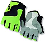 Giro Youth Bravo Junior Gloves, Highlight Yellow/Black, Small