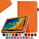 "Fintie Folio PU Leather Case Cover for 10.1'' Android Tablet inclu. Alldaymall 10.1'' A20,iRulu 10.1'',TouchTab 10.1"",Dragon Touch A1X 10.1'' /Dragon Touch A1 10.1'' (PLEASE check the complete compatible tablet list under Product Description) -Orange"