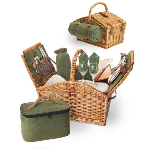 Picnic Time Somerset Picnic Basket, Service for 2