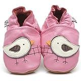 Chaussons Bébé en cuir doux - Oiseaux - 12/18 mois