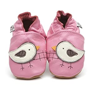 Soft Leather Baby Shoes Bird 6 12 months Amazon Baby