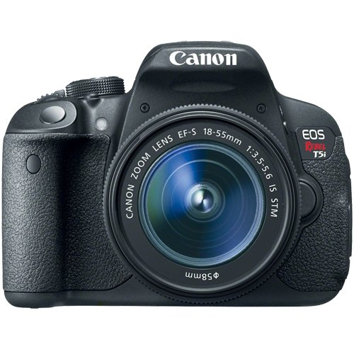 Canon EOS Rebel T5i Digital SLR Camera & EF-S 18-55mm IS STM Lens with Canon EF-S 55-250mm f/4.0-5.6 IS II Zoom Lens Special Offers
