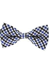Tok Tok Designs® Handmade Men Bow Ties - B129 (TC Cotton Fabric)