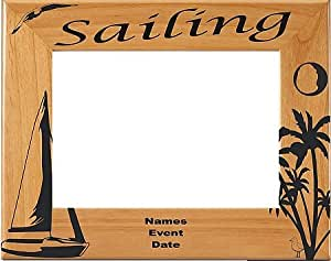 Personalized Sailing Picture Frame