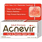 Acnevir Acne and Redness Relief Gel, 0.75 Ounce Boxes (Pack of 3)