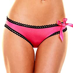 Criss Cross Panty Pink (Small Medium)