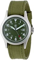 Smith & Wesson Men's SWW-1464-OD Military Multi Canvas Straps Watch from Smith & Wesson