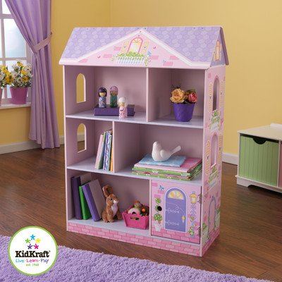 KidKraft Dollhouse Bookcase