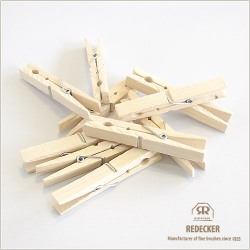 [REDECKER/レデッカー] 木の洗濯ばさみ10本セット