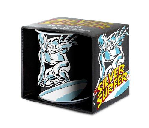 Silver Surfer Tazza da caffè - Marvel Comics Tazza di porcellana - Stampa a colori - design originale concesso su licenza - LOGOSHIRT