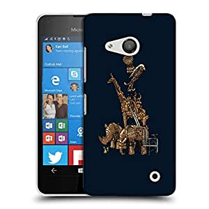 Snoogg Mechanism Of Animal Designer Protective Back Case Cover For LUMIA 550