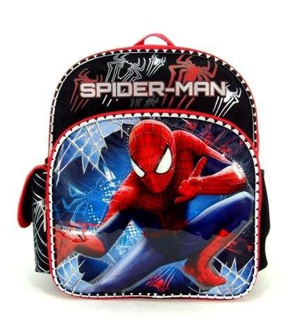 "The Amazing Spider-Man 2 - Toddler 12"" Backpack - Sticky Web front-768023"