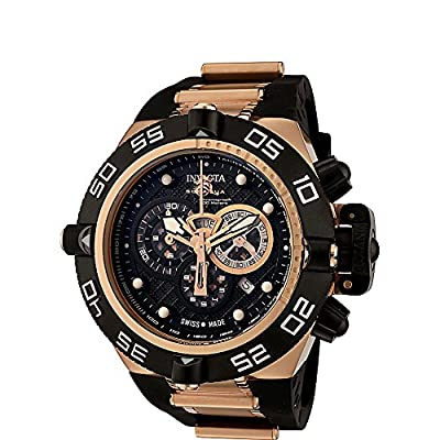 Invicta Watches Mens Subaqua Chronograph Polyurethane Band Watch