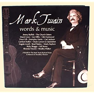 Mark Twain Words/Music Cd