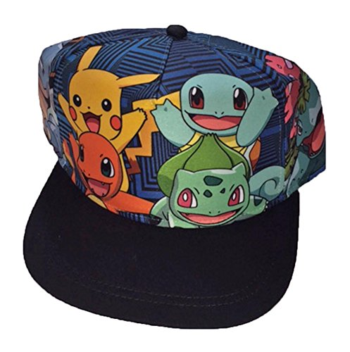 Pokemon Characters Baseball Hat