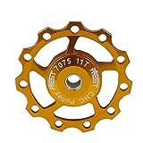 AEST Lerway アルミニウム ジョッキー ホイール リア ディレイラー プーリー シマノ SRAM 11T ゴールデン