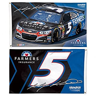 Kasey Kahne Official NASCAR 3ftx5ft Banner Flag by Wincraft