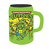 Nickelodeon NT2141 TMNT Group Shot Ceramic Stein, 22 oz, Multicolor