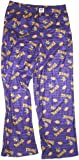 Minnesota Vikings PURPLE All Over Print YOUTH Sleep Pants (Large (14/16))