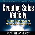 Creating Sales Velocity: Awaken Your Power to Attract Sales Effortlessly (       UNABRIDGED) by Matthew Ferry Narrated by Matthew Ferry