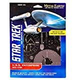 Fascinations Metal Earth Star Trek USS Enterprise NCC-1701 3D Metal Model Kit