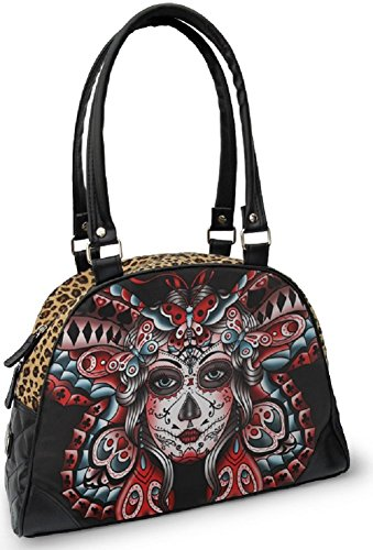 Day of the Dead Sugar Skull Purse